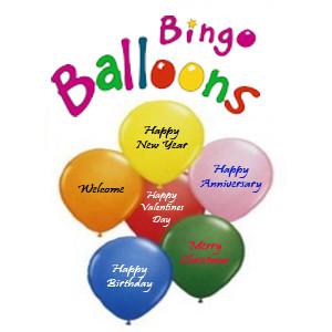 Pre-Printed Balloons